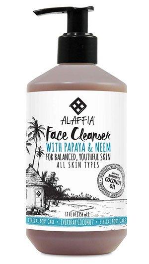 Alaffia Purely Coconut Face Wash