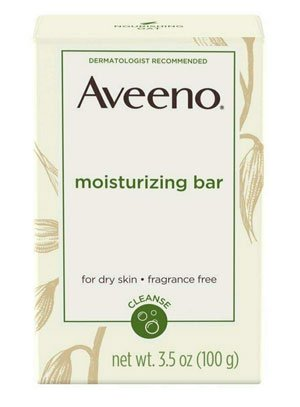 Aveeno Naturals Moisturizing Bar, Best soap for dry skin