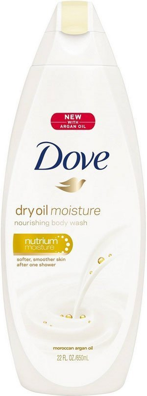 Dove dry oil moisture