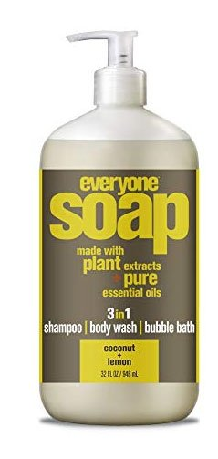Everyone soap made with plant extracts