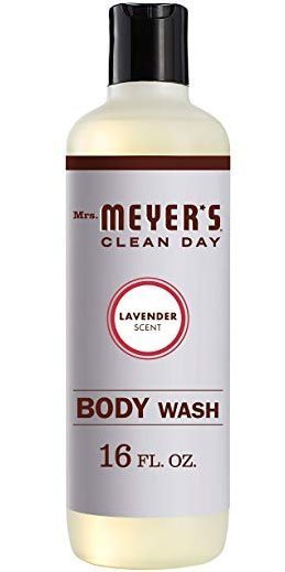 Mrs. Meyer's clean day lavender scent natural body wash