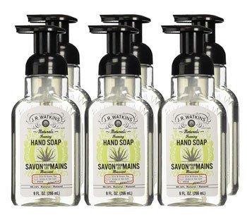 J.R. Watkins Foaming Aloe Best Soap for Dry skin