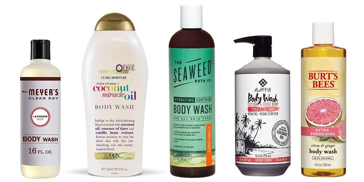 Best organic natural body wash