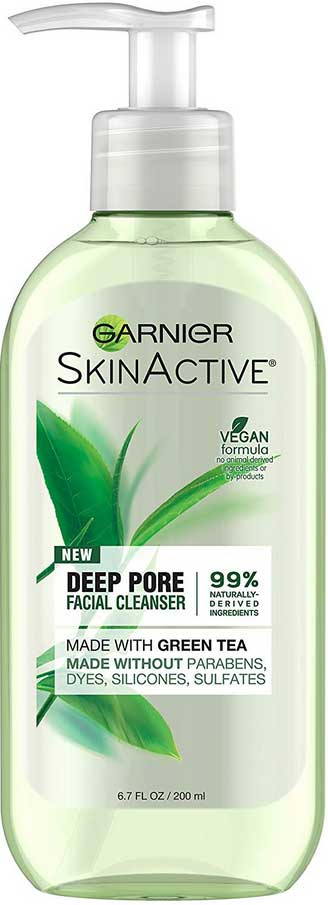 Garnier clean shine control cleansing gel for oily skin