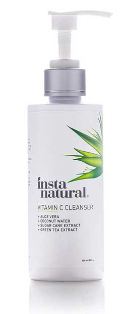 Insta Natural Vitamin C Facial Cleanser for oily skin