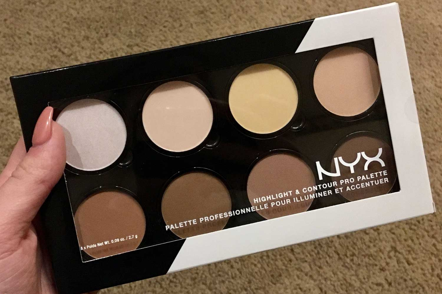 NYX drugstore contour kit