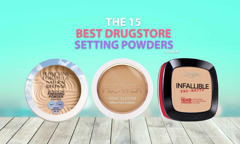 best drugstore setting powders