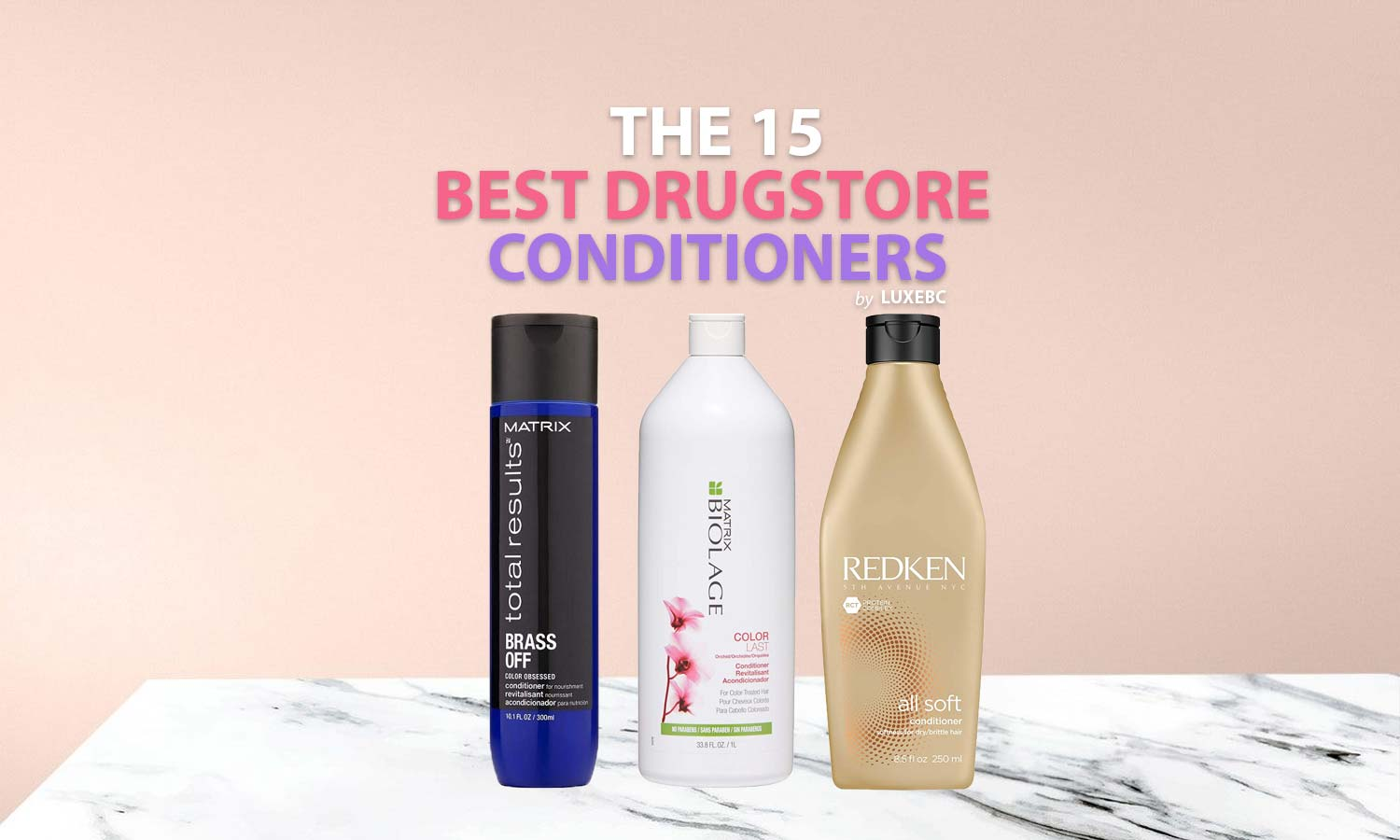 Best drugstore conditioners