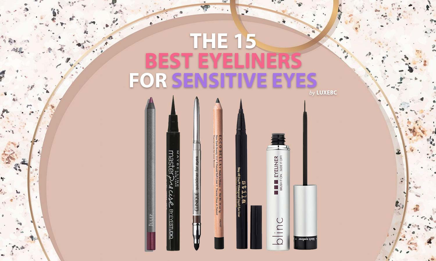 Best eyeliners for sensitive eyes