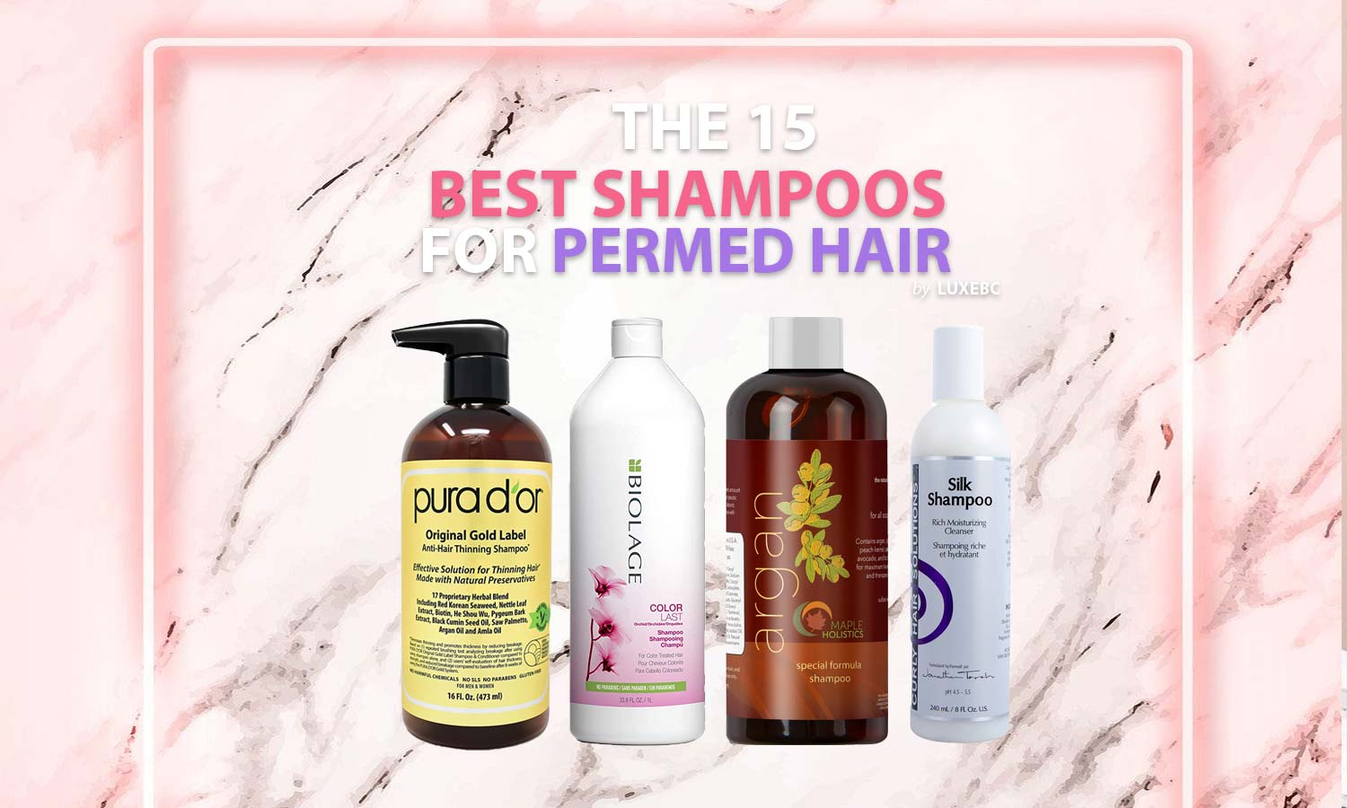 Best shampoos for permed hair