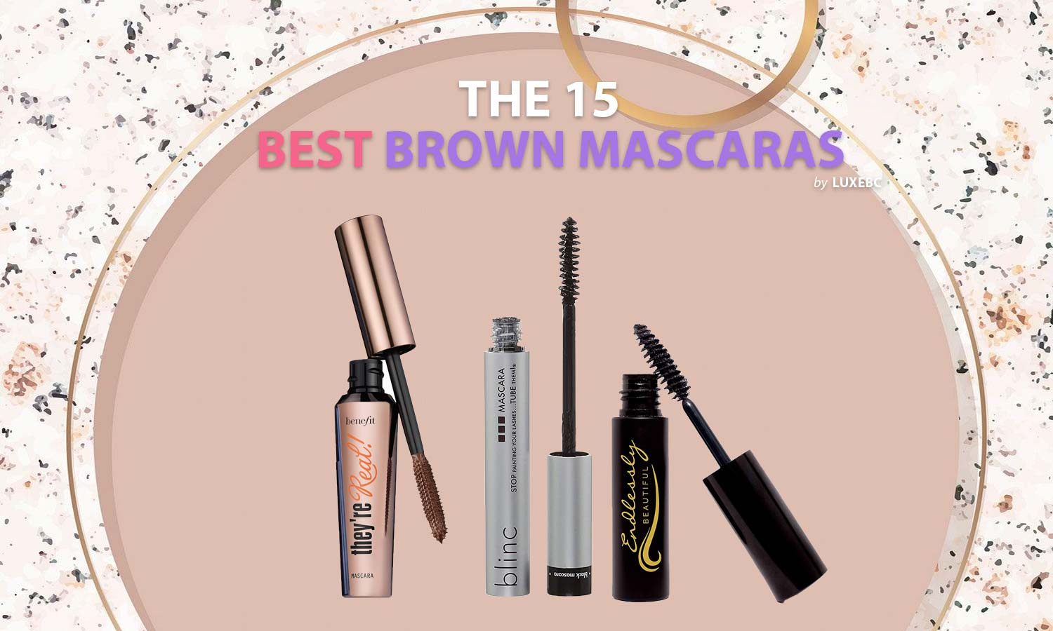 Best brown mascaras