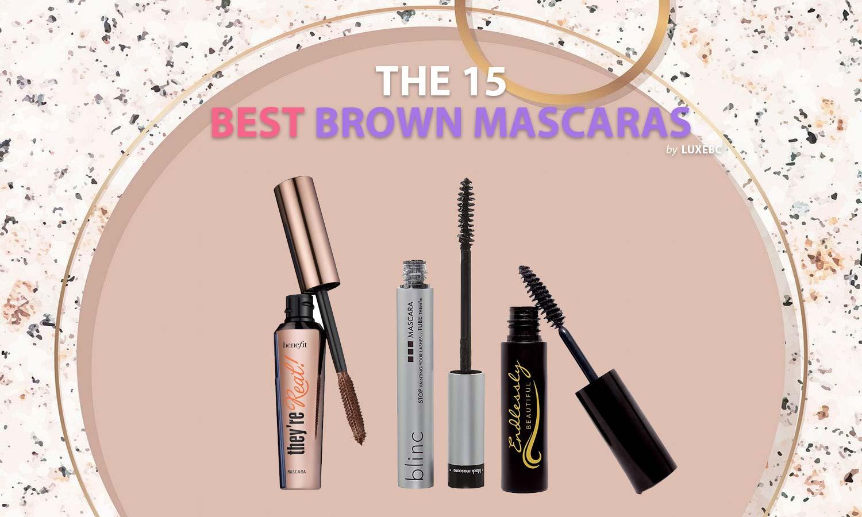 Best brown mascaras