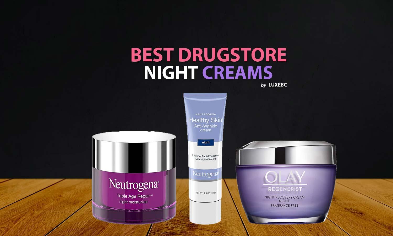 Best drugstore night creams